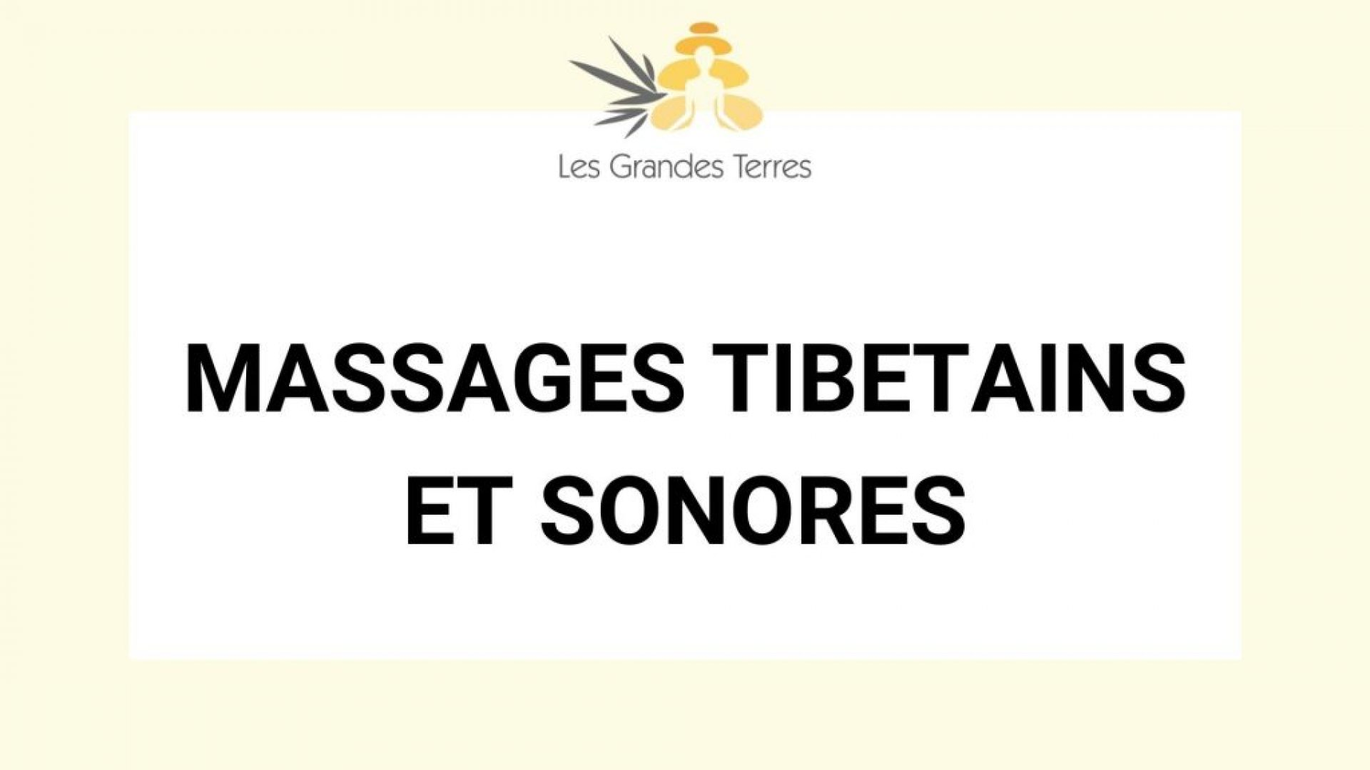 MASSAGES TIBETAINS ET SONORES