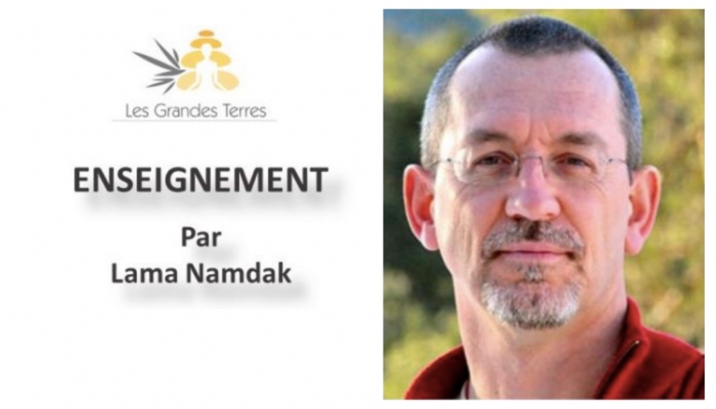 Enseignement par Lama Namdak