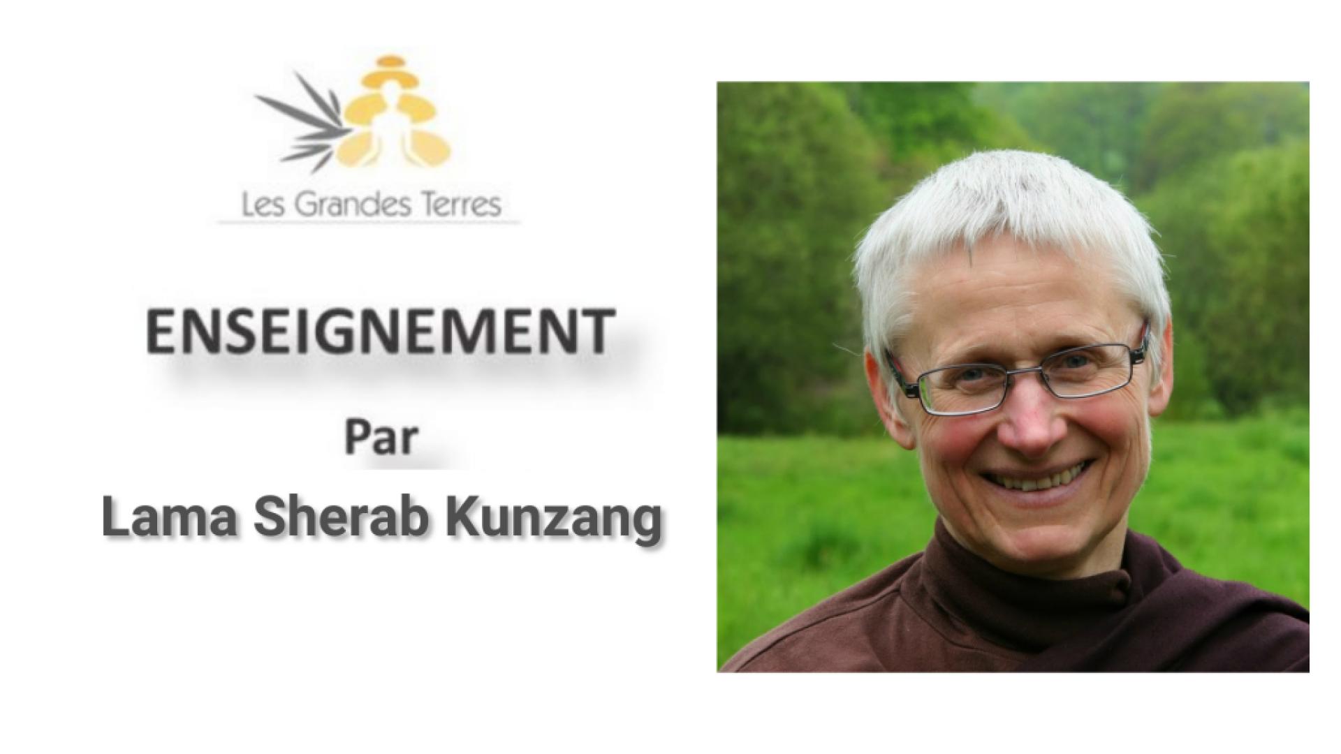 Enseignement Lama Kunzang