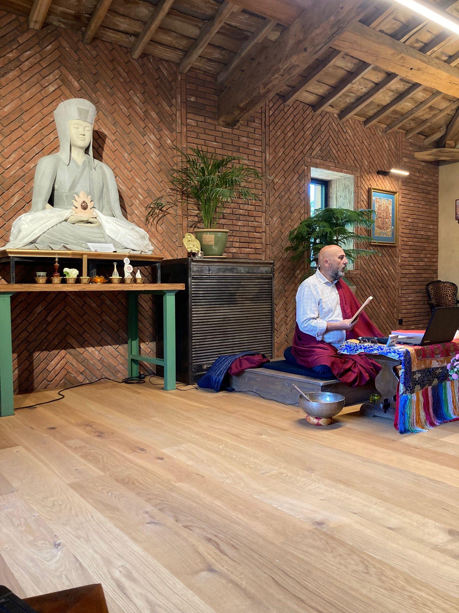 Enseignement 2-3 octobre 2021 : Un chemin de Sagesse avec Lama Guetso