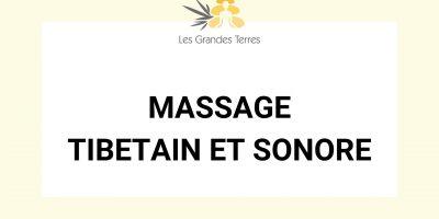 Massage tibetain et sonore